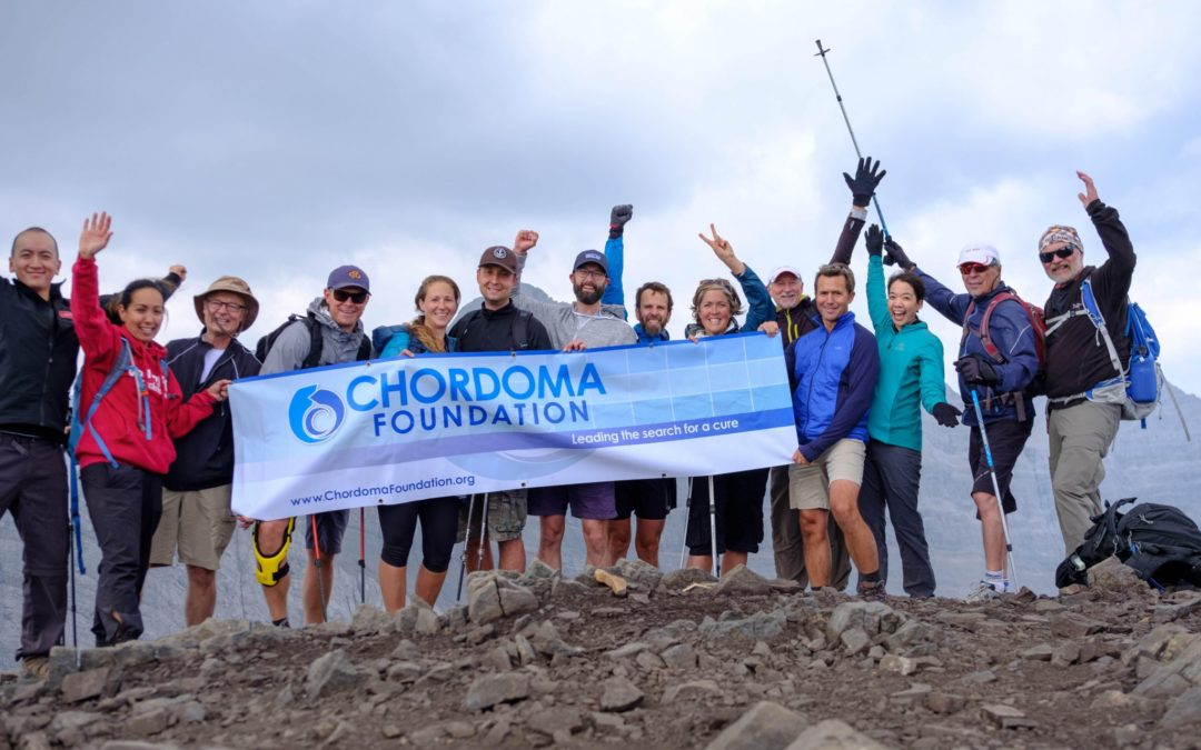 A Strategic Lightning Transition with Chordoma Foundation
