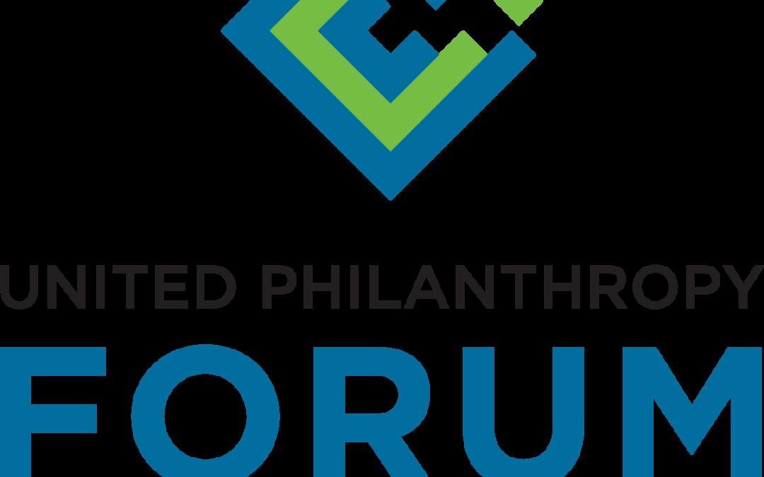 Empowering a Network of Philanthropy-United Philanthropy Forum